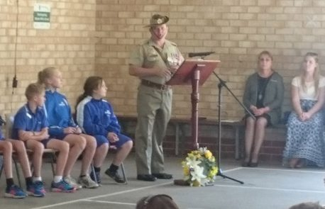 ANZAC Day Assembly at Parkerville Primary School