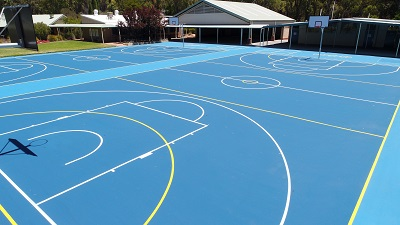 Our New Courts!